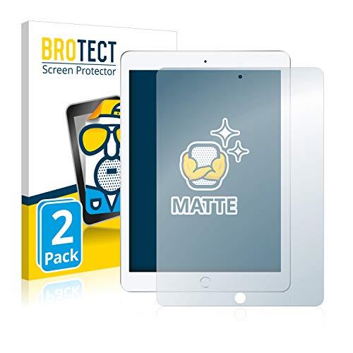 BROTECT 2X Entspiegelungs-Schutzfolie kompatibel mit Apple iPad 9.7
