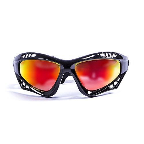 Revo RE4059 01 BL descendre N Noir Avec Bleu Eau Verres polarisés lunettes de soleil