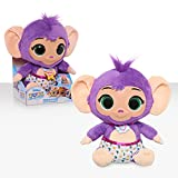Disney Jr T.O.T.S. Tickle & Toot Baby Mitsu The Monkey, 10-inch Feature Plush, by Just Play