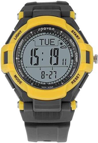 Multifuncional Deportes al aire libre reloj inteligente reloj de montaña metrónomo brújula altitud pronóstico del tiempo reloj de fondo blanco-fondo blanco