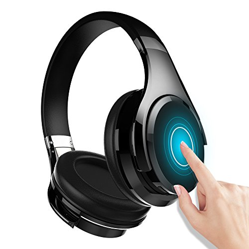 Zealot B21 Deep Bass Portable Touch Control Wireless Bluetooth Over-Ear Headphones, Wired Headset with Built-in Mic for iPhone PC TV Computer Smartphone Travel Work