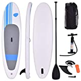 COSTWAY Tabla Hinchable Paddle Surf 305 x 76 x15 Centímetros Sup Board Stand Up...