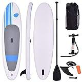 COSTWAY Tabla Hinchable Paddle Surf 305 x 76 x15 Centímetros Sup Board Stand Up con Remo Bomba Bolsa de Transporte