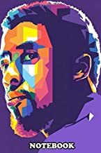 Notebook: Chadwick Boseman In Wpap , Journal for Writing, College Ruled Size 6