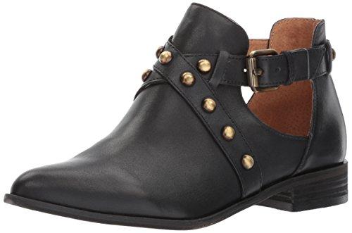 Opportunity Shoes - Corso Como Women's Doon Ankle Boot, Black Burnish Calf, 6.5 Medium US