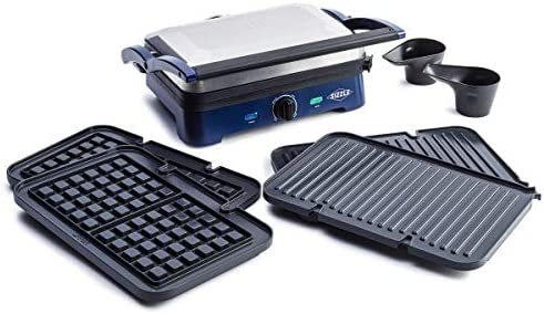 Blue Diamond Cookware Sizzle Griddle Deluxe Ceramic Nonstick Electric Griddle Grill and Waffle product image