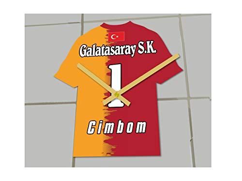 MyShirt123 Galatasaray Istanbul Fußball Club–Fußball Shirt Uhr–Name & jeder Zahl–Sie wählen.