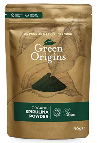 Green Origins Organic Spirulina Powder 90g