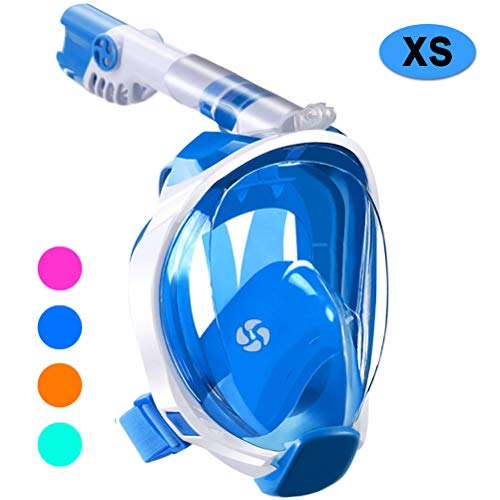 WSTOO Full Face Snorkeling Mask,Newest Upgrade 180 Panoramic Foldable...