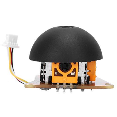 DAUERHAFT Fácil de reemplazar, componente de balancín de Control de emote Duradero, Materiales de plástico, balancín de Control Remoto para dji Mini(Left)