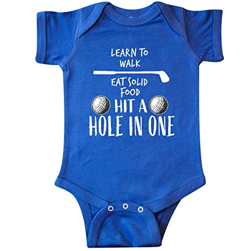 inktastic Golf to-Do List- Future Golfer Infant Creeper 6 Months Royal Blue