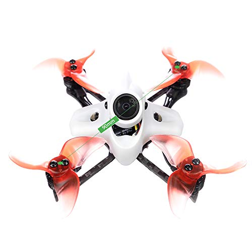 GoolRC Tinyhawk II Race Drone de Carreras FPV 90mm sin Escobillas con Cámara 700TVL RunCam Nano2 Velocidad Máxima 120KM / H F4 37CH 25/100 / 200mW VTX con 2 Baterías