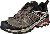 SALOMON X Ultra 3 GTX, Chaussures de Randonnée Basses Homme, Gris (Castor Gray/Darkest Spruce/Acid Lim 000), 40 2/3 EU