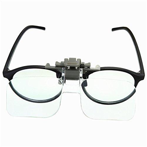 Tutoy Hd Lente Precisa Clip En El Claro Plegado Lupas Manos Libres Lectura Gafas De Joyería Evaluación Reloj Herramienta De Reparación