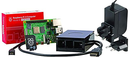 U: Create Kit de Inicio Raspberry Pi 4 Modelo B 2GB, Negro