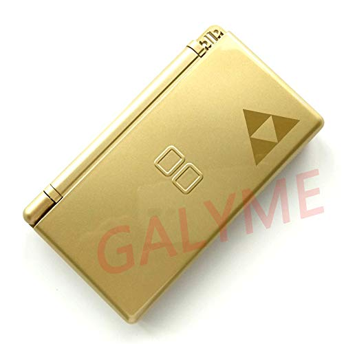 Galyme Hot Fit for NDSL Zelda Limited Edition Case Cover Replacement for Nintendo DS Lite Shell Housing with Button Kit Full Set
