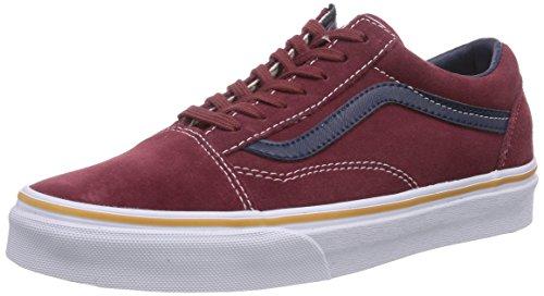 Vans - U Old Skool (Suede/Leather), Sneakers, unisex, Rosso (Suede/Leather), 41