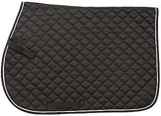 Tough 1 EquiRoyal Square Quilted Cotton Comfort English Saddle Pad