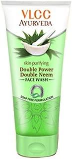 VLCC Ayurveda Skin Purifying Double Power Double Neem Facewash 100ml (Pack of 2 X 50ml)