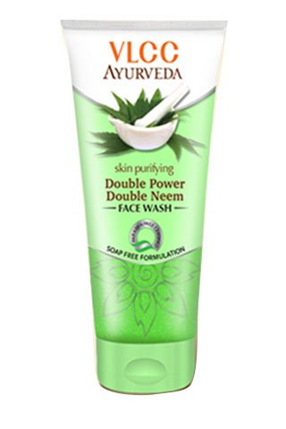 VLCC Ayurveda Skin Purifying Double Power Double Neem Facewash 100ml (Pack of 2 X 50ml)(Ship from India)