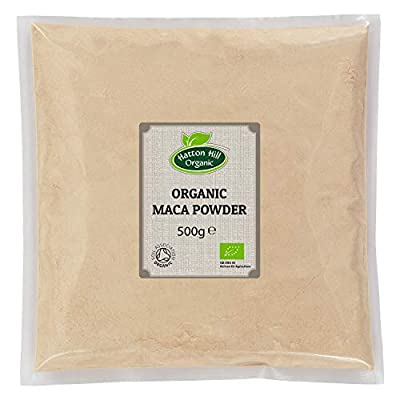 Organic Maca Powder 500g by Hatton Hill Organic - Free UK Delivery by Hatton Hill Organic