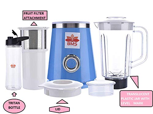 BMS LIFESTYLE Blender, Smoothies Blender with Tritan BPA Free Sport Bottle and...