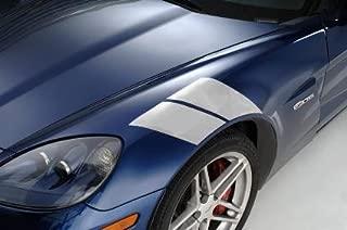 Corvette Grand Sport Fender Accent Stripes : 2005-2013 C6 (Silver)