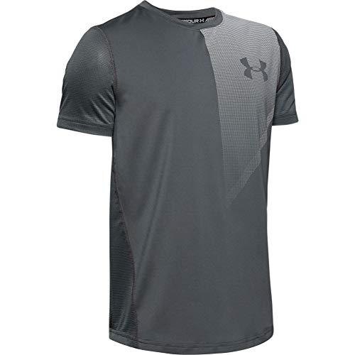 Under Armour - Fitness-T-Shirts für Jungen in Grau, Größe XL