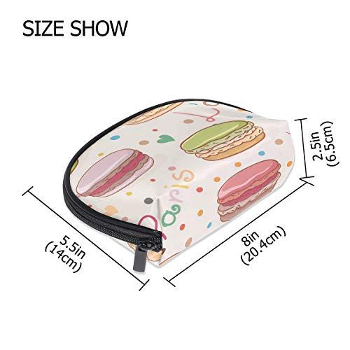 DEZIRO Paris Cakes Hamburger Petite trousse à maquillage