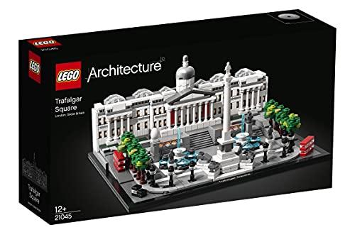 LEGO21045ArchitectureTrafalgarSquareSetdeConstrucción,ModelodeColeccionista,MaquetaDecorativaparaNiños+12años