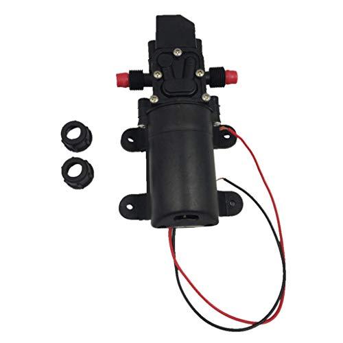 KAIBINY Bomba de Agua de 12V 60W 4.5L / Min Diafragma de Alta presión Agua Agua Bomba de cebado