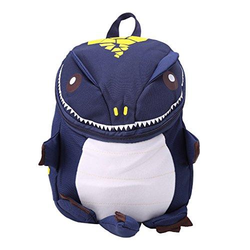 Scdincier School Bag, Cute Kid Toddler Backpack Kindergarten Schoolbag 3D Cartoon Dinosaur Animal Bag