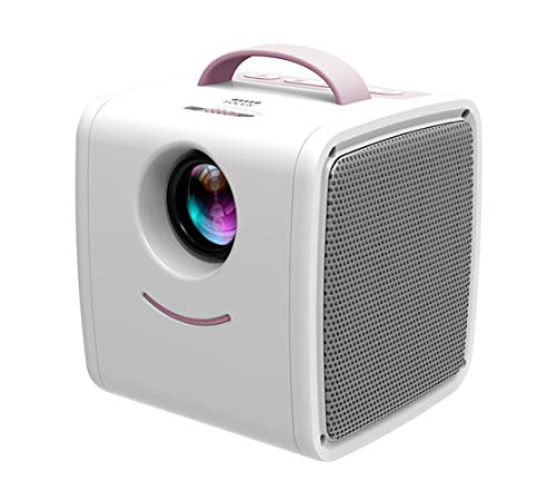 Projector, draagbare miniprojector 1080P LCD-thuisbioscoop, max. 80