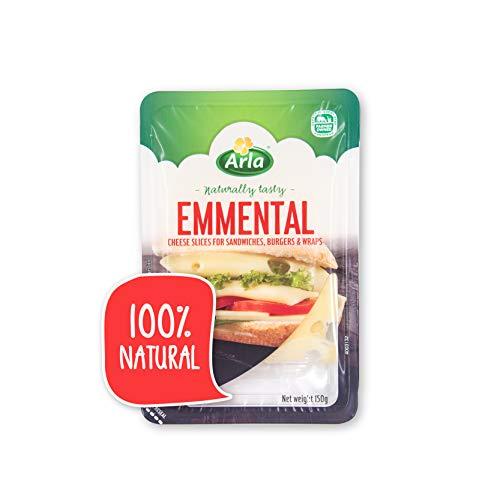 Arla Queso Emmental en Lonchas, 150g (Refrigerado)