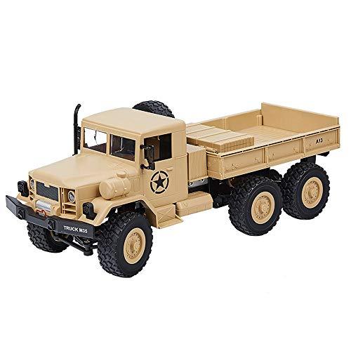 Lihgfw Offroad Fahrzeug Fernbedienung LKW drahtlose elektrische Sechsradantrieb Simulation Modell Klettern Truck Kinder Spielzeugauto (Größe : 2 Batteries)