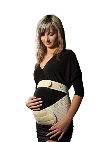 LOREY Hochwertige Schwangerschaftsbandage/Bauchbinde BK-26 XL