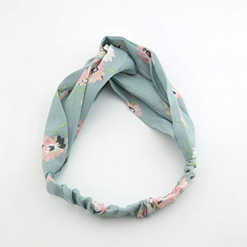 Elastisches Stirnband Kreuz Haarband Farbe Gestreift Satin Klassisches Haarschmuck Stirnband Haarschmuck Mintgrün Rosa Pfirsichblüte