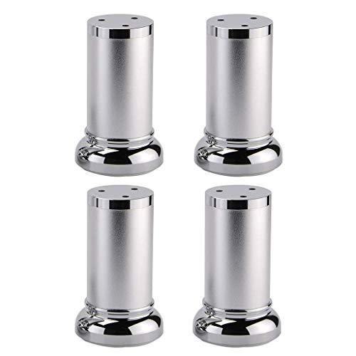 Zholei X4 Eenvoudige aluminium meubelpoten voor de benen, tafelpoten, tv-kast, in hoogte verstelbaar