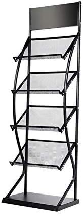 AJZGF Magazine Stand Rack 4 Quantity limited Seasonal Wrap Introduction Living Storage R Layer