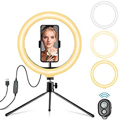 "10.2"" LED Ring Light with Tripod Stand  Pho..."