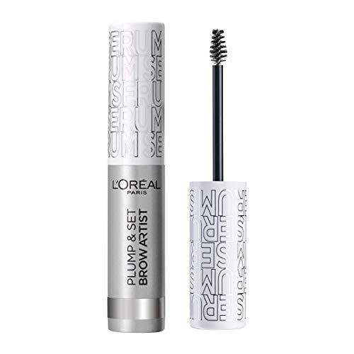 L'Oréal Paris Brow Artist Plump & Set 00 Transparent, transparentes Augenbrauen-Gel für definierte...