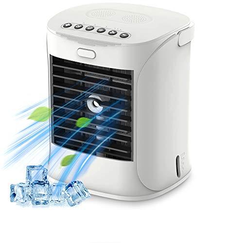 Yemetey Climatizzatore Portatile Mini Raffreddatore Daria,Condizionatori Portatili Personal 4-in-1 Air Cooler con 7 LED...