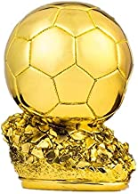 Resin craftwork 2018 football World Cup Creative gifts electroplating golden ball trophy