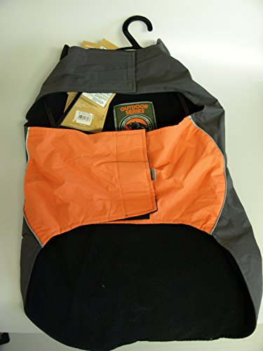 Karlie Touchdog Hundemantel Outdoor mit Griff, 56 x 78 x 46 cm, XXL, orange