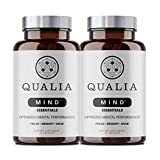 Qualia Mind Essentials Nootropics 25ct - 2 Pack   The Brain Supplement for Focus, Supporting Memory, Mental Clarity, Energy, Reasoning and Concentration with Ginkgo biloba, Bacopa monnieri