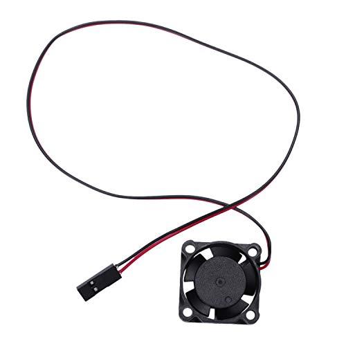 Gaoominy Para RC Modelo Coche Esc 3010 Ventilador De Enfriamiento del Motor para Control Remoto Accesorios para Piezas De Coche 25X25Mm
