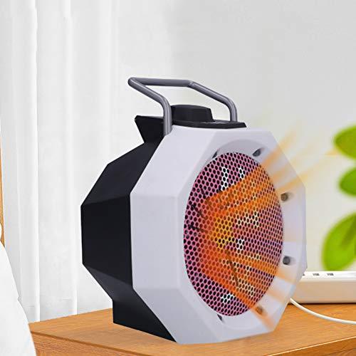 Calentador de espacio eléctrico portátil, 500 W Calentador de ventilador de dibujos animados Mini calentador eléctrico de escritorio para el hogar Seguro y silencioso para el escritorio de la habitaci