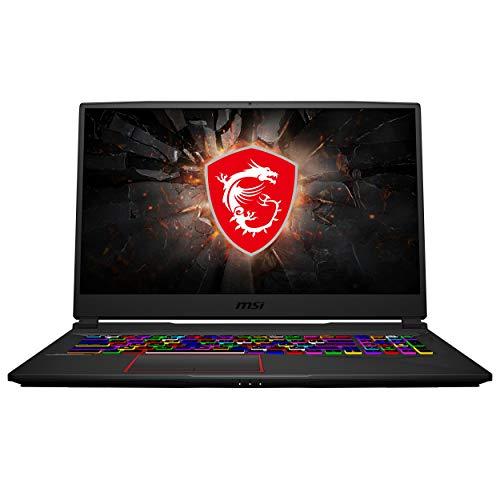 MSI GE75 Raider Gaming Laptop: 17.3' 240Hz Display, Intel Core i7-10750H, NVIDIA GeForce RTX 2070 Super, 32GB RAM, 512GB NVMe SSD + 1TB HDD, Win10, Black (10SFS-477)
