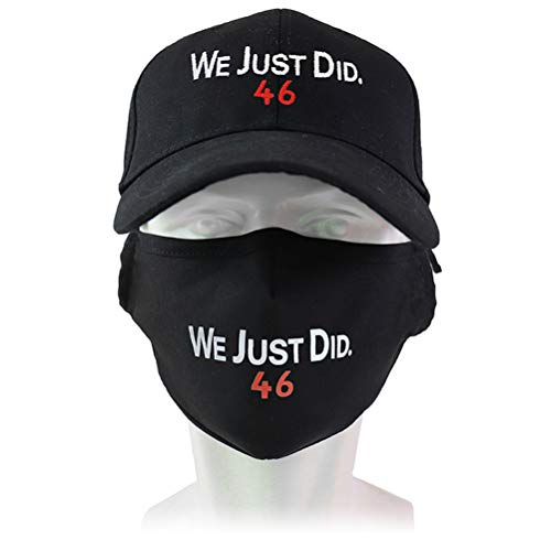 shenruifa Gorra de béisbol con bordado de 2021, con diseño de texto We Just Did 46