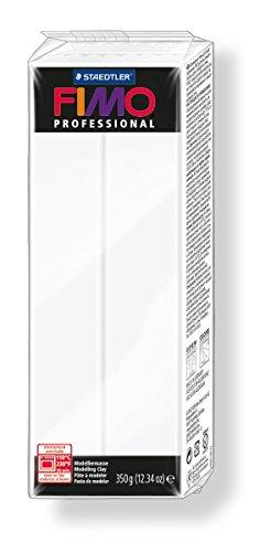 Staedtler 8001-0 Modelliermasse Fimo Professional (ofenhärtend, 350 g,